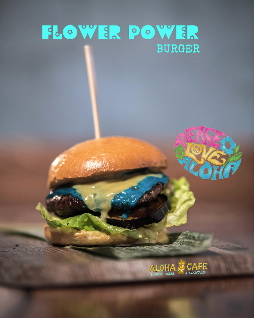 Flower Power Burger